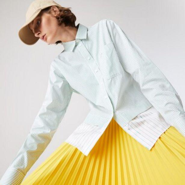 Oferta de Camisa De Mujer Lacoste Rayas por $8399