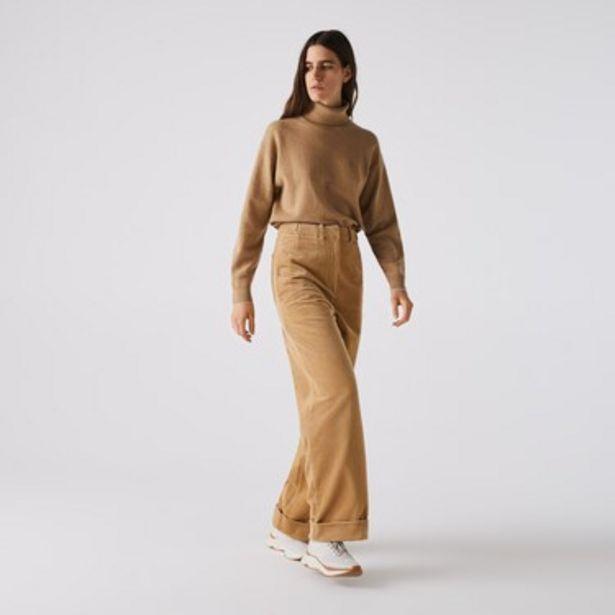 Oferta de Pantalón De Mujer Tiro Alto En Corderoy por $9099