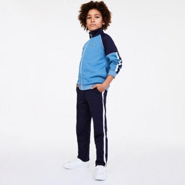 Oferta de Pantalón Jogging Infantil Con Rayas A Contraste por $4549