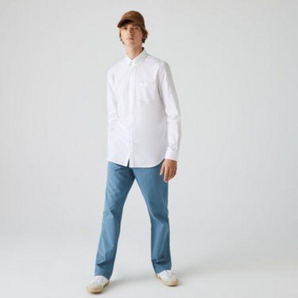 Oferta de Camisa Hombre En MiniPiqué De Algodón Manga Larga por $8249