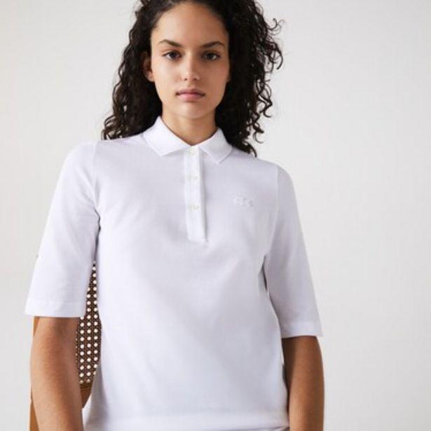 Oferta de Polo De Mujer Lacoste Slim Fit En Algodón por $5249