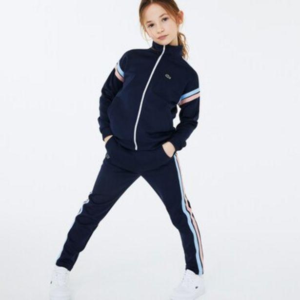 Oferta de Pantalón Jogging Infantil Lacoste Sport Stripes por $4549