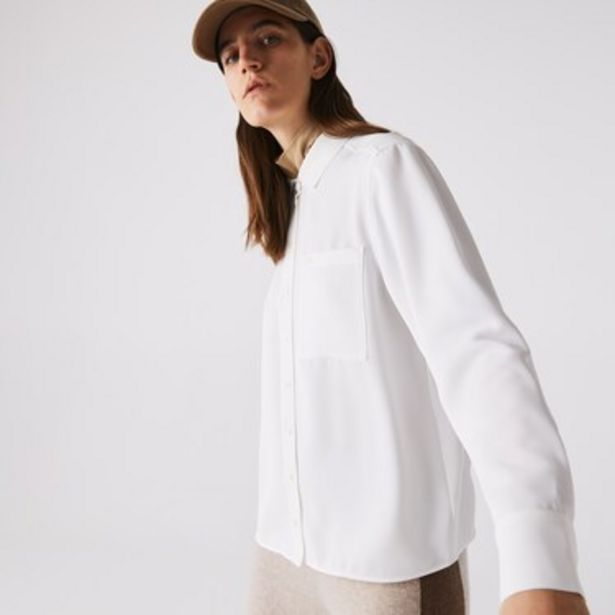 Oferta de Camisa De Mujer Lacoste Fluid por $8999