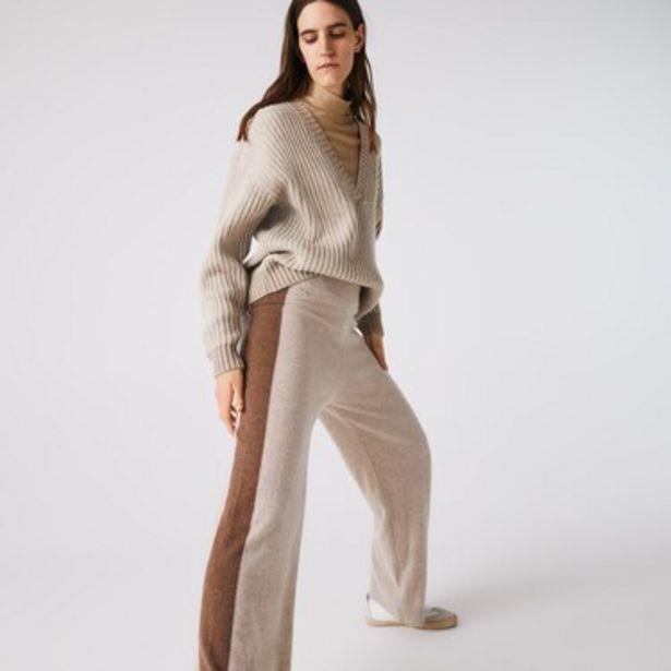 Oferta de Pantalón De Mujer De Tiro Alto En Cashmere Reciclado por $17499