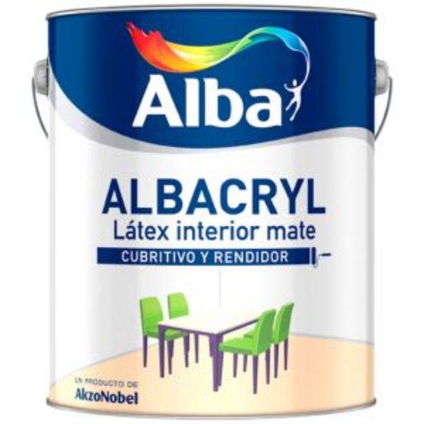 Oferta de Alba Albacryl Té Danzante por $5742,78