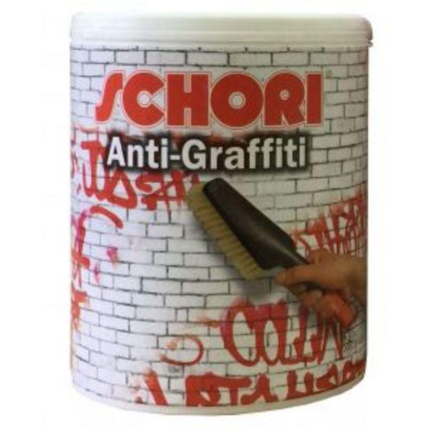 Oferta de Pintura Antigraffiti Schori 4Lts por $7593,39
