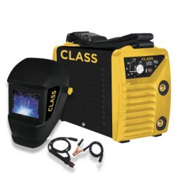 Oferta de Soldadora Inverter Class 200 Amp Mma 220v + Mascara Fotosensible por $23754,09