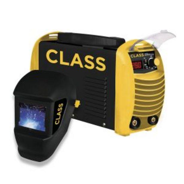 Oferta de Soldadora Inverter Class 250 Amp Mma 220v + Mascara Fotosensible por $32192,85