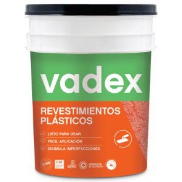 Oferta de Revestimiento Vadex Revoque Plastico Blanco/Base 25 Kg por $12004,66