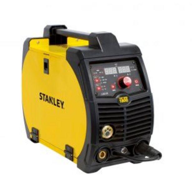 Oferta de Soldadora Inverter Stanley Top Mig 1800 Italiana por $162487,5