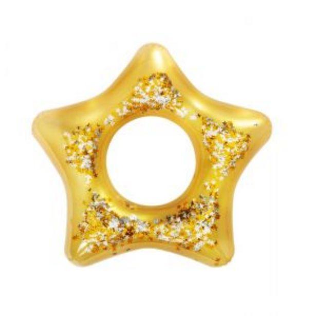 Oferta de Inflable Flotador Glitter Para Pileta 91cm Naranja Bestway por $2555,59