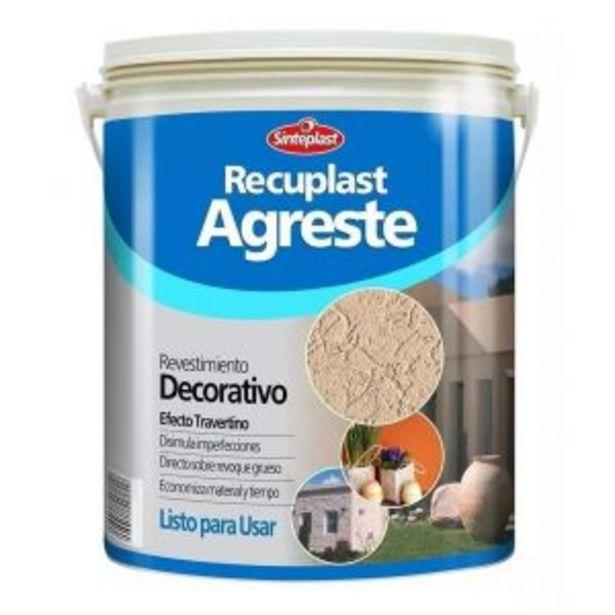 Oferta de Recuplast Agreste Revestimiento Blanco Fino 30kg Sinteplast por $7611,63