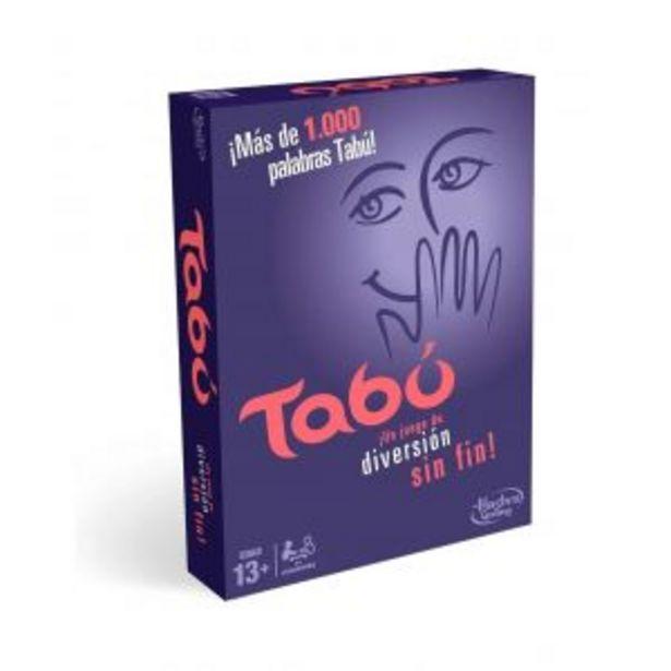 Oferta de Juego De Mesa Taboo Hasbro por $6946,62
