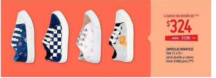Oferta de Zapatillas por $1296