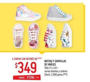 Oferta de Zapatillas por $349