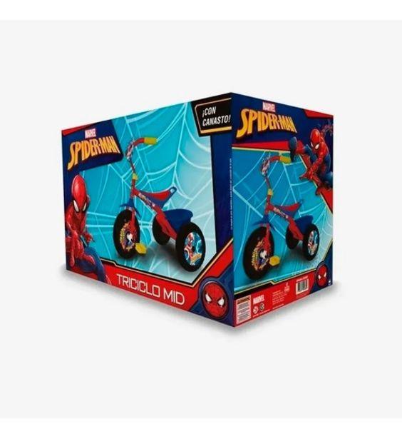 Oferta de Triciclo Mid Spiderman Con Canasto 306001 por $7564