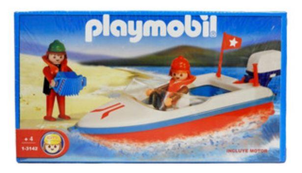 Oferta de Playmobil Lancha Con Motor 3142 por $3950