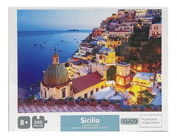 Oferta de Rompecabezas Puzzle 500 Piezas Ditoys 2409 por $2241