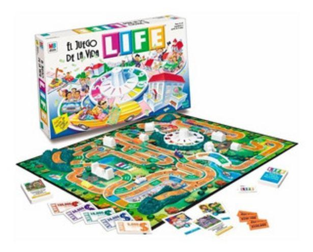 Oferta de Juego De Mesa Juego De La Vida Life 3013 por $7610