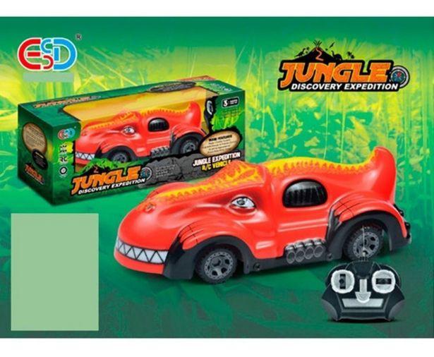 Oferta de Auto Naranja R/c Expedición Jungla 1694106 E.full por $1499