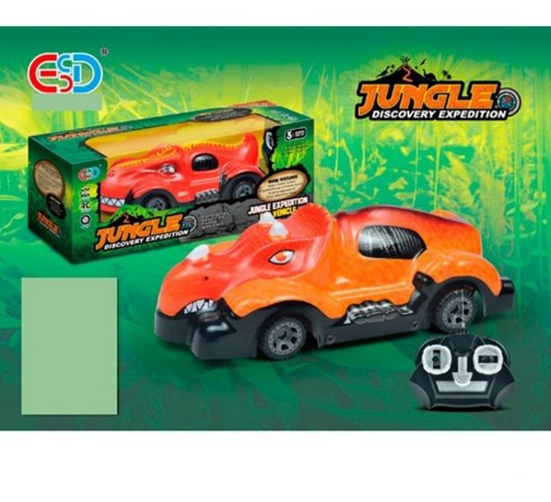 Oferta de Auto Naranja R/c Expedición Jungla 1694108  E.full por $1499