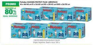 Oferta de Pañales Huggies Protect Plus  por