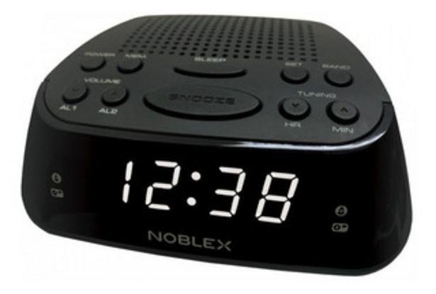 Oferta de Despertador Radio Reloj Noblex Rj960 por $3899
