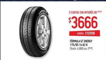 Oferta de Neumáticos formula gt energy 175/ 65 por