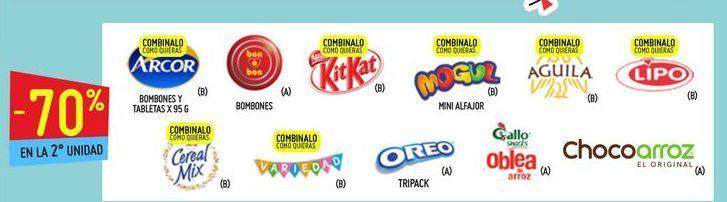 Oferta de Chocolate Arcor por
