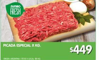 Oferta de Carne picada especial x kg por $449