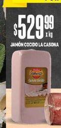 Oferta de Jamón Cocido La Casona por $529,99