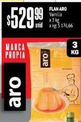 Oferta de Flan Aro Vainilla x 3 Kg  por $529,99