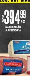 Oferta de Salame Milan La Residencia  por $394,99