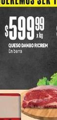 Oferta de Queso Dambo Ricrem en Barra  por $599,99