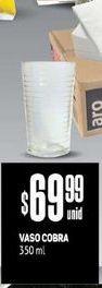Oferta de Vasos Cobra 350 ml  por $69,99