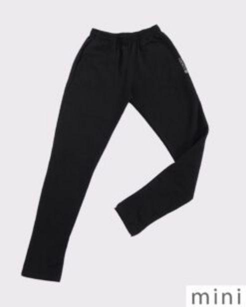 Oferta de Pantalón chupín de niño de frisa elastizada negro por $3700