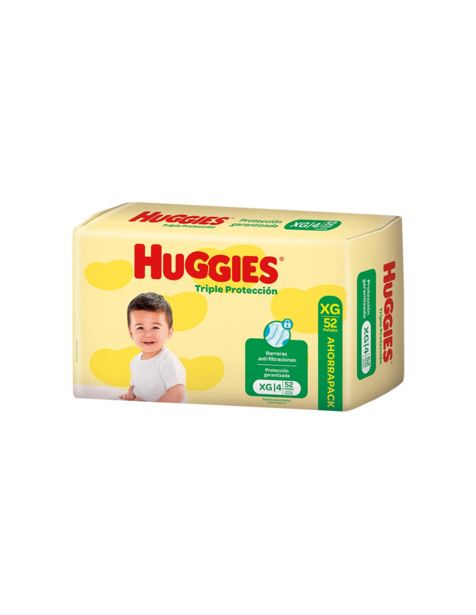 Oferta de Pañales Niños Huggies Extra Grande Ahorrapack 52Un por $1094,94