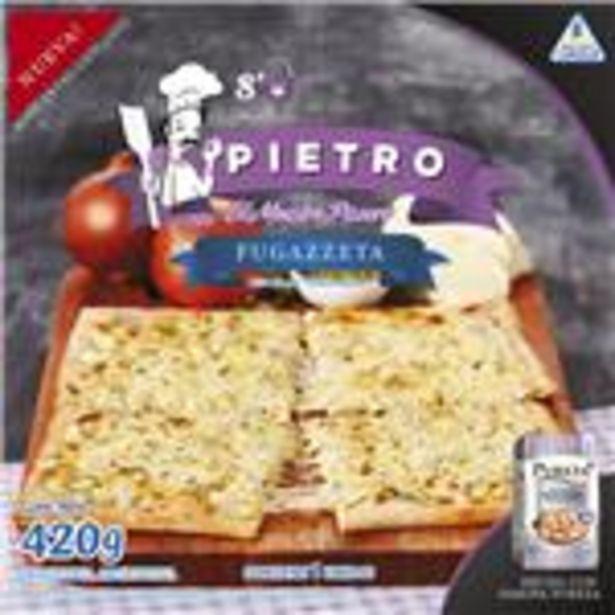 Oferta de Pizza Fugazzetta Pietro Cja 420 Grm por $655