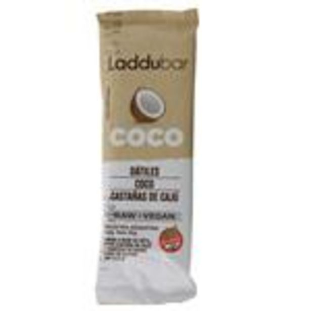 Oferta de Barra Coco Laddubar  30 Gr por $90