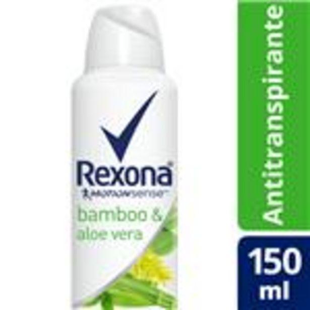 Oferta de Desodorante Antitraspirante REXONA  Bamboo  Aerosol 90 Gr por $100,19