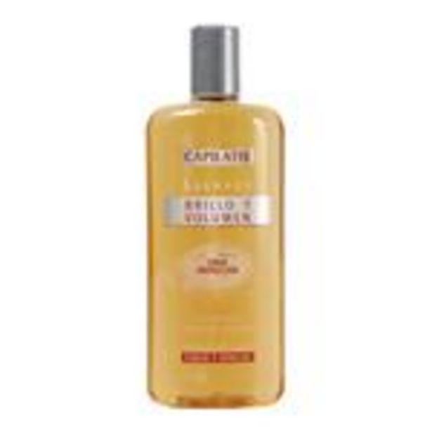 Oferta de Shampoo CAPILATIS Brillo Y Volumen Botella 400 Ml por $453,53