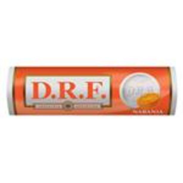 Oferta de Pastillas DRF Naranja Paq 23 Grm por $19,3
