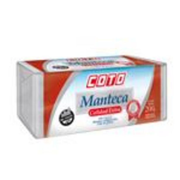 Oferta de Manteca COTO 200 Gr por $166