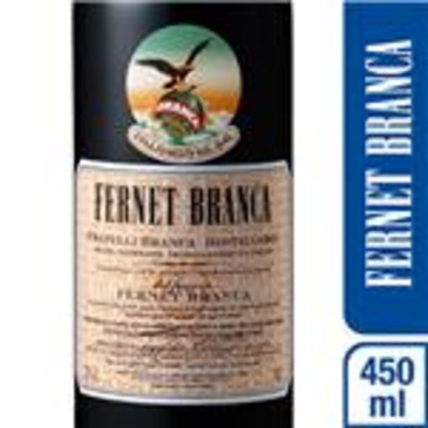 Oferta de Fernet BRANCA   Botella 450 Cc por $432,01