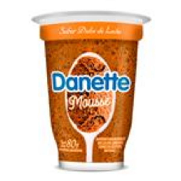 Oferta de Mousse Dulce De Leche Danette Pot 80 Grm por $111,65