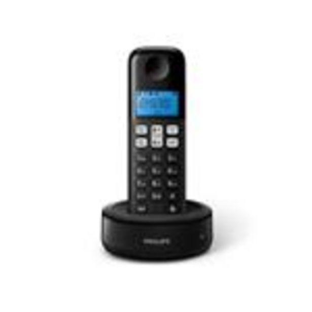 Oferta de Telefono Inalámbrico PHILIPS D1311b/77 por $4674
