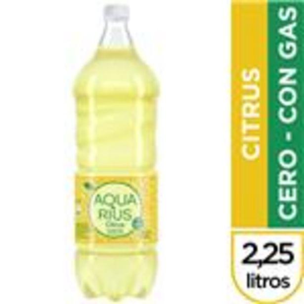 Oferta de Agua Saborizada AQUARIUS Levemente Gasificada Citrus 2,25 Lt por $132,45
