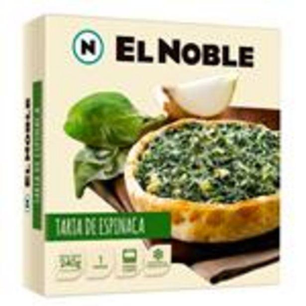 Oferta de Tarta Espinaca El Noble Cja 240 Grm por $205,5