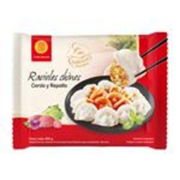 Oferta de Ravioles Chinos Cerdo Y Repoll Fu Bao Paq 400 Grm por $339