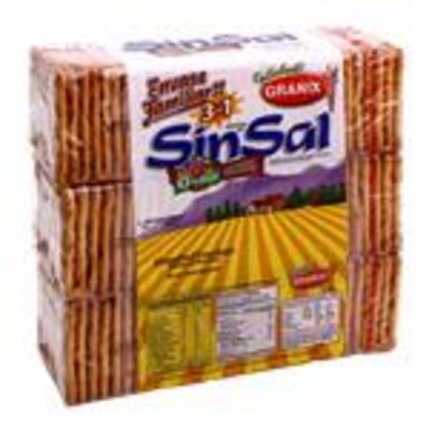 Oferta de Gall.Sin Sal . Granix Pak 555 Grm por $189,99